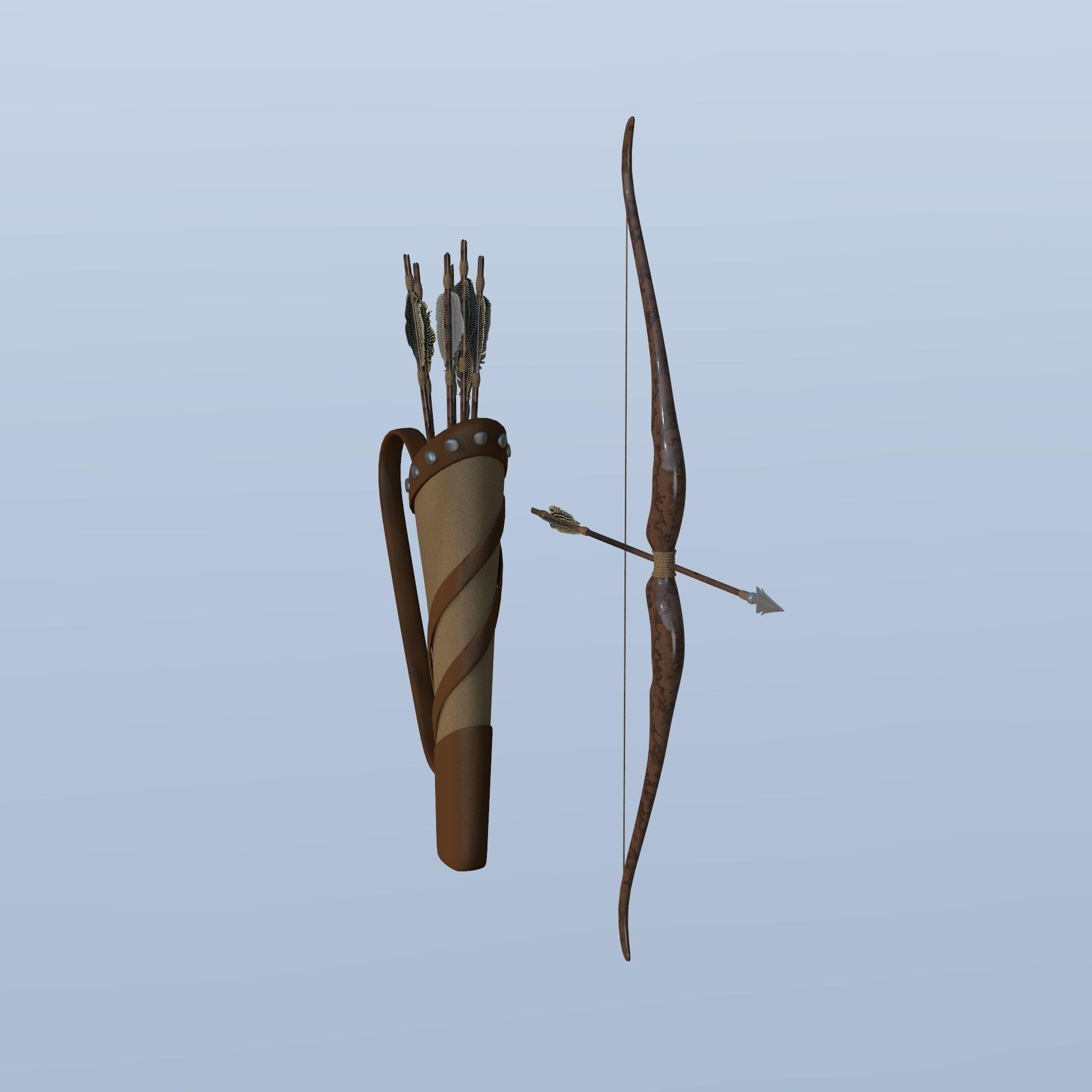 Simple bow and arrow