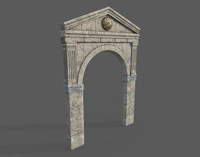 Roman Gate Arc 3D model