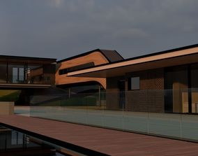 3D model Vacation Modern House