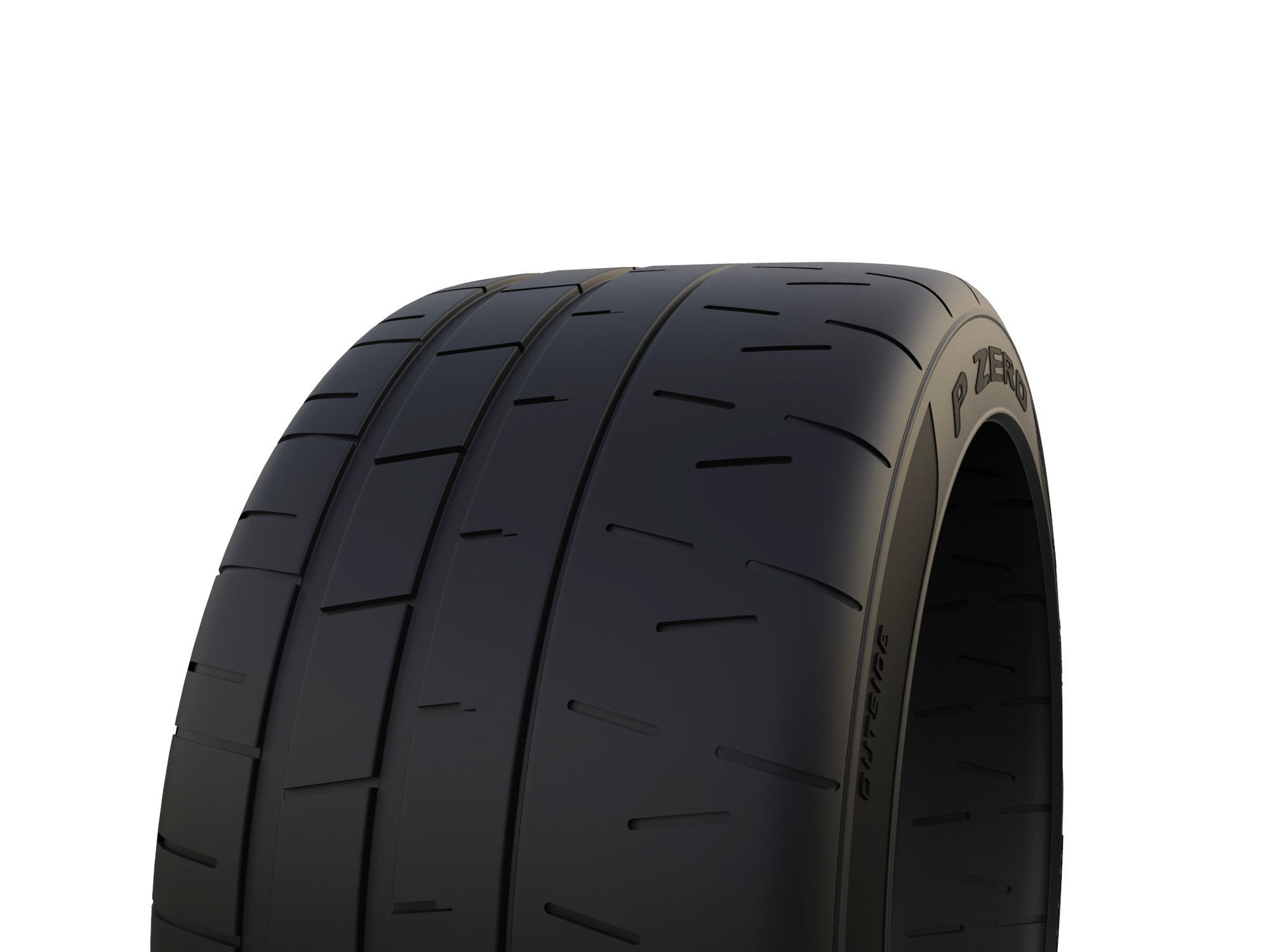 Pirelli P Zero >> Pirelli P Zero Trofeo R 3d Model
