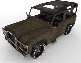 Abandoned Jeep 3D model