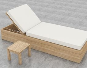 design 3D Lounge Chair Pool