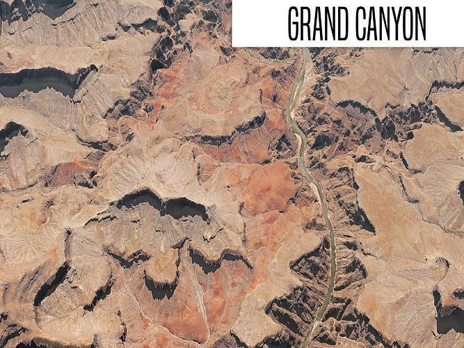 grand canyon 3d model max obj mtl fbx 1