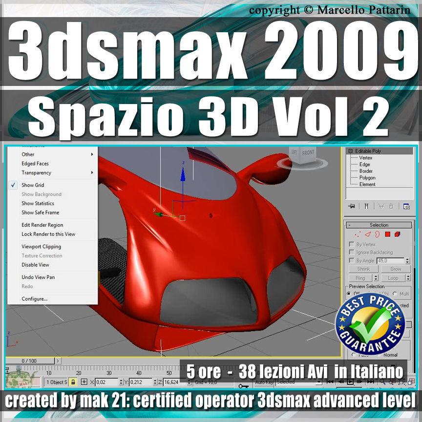 002 Corso 3ds max 2009 Spazio 3D vol 2