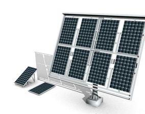 solar power system 3D