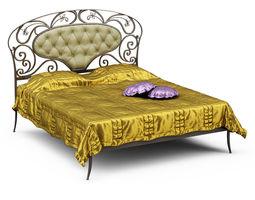 3D model Bed Target Point Imbottiti