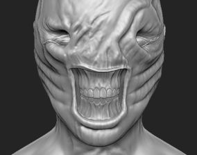 3D printable model Chatterer Hellraiser Bust