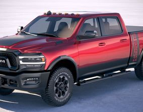RAM Power Wagon 2019 3D