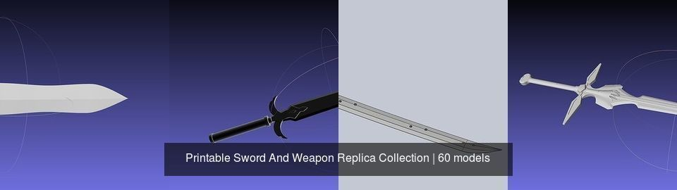 Printable Sword And Weapon Replica Collection