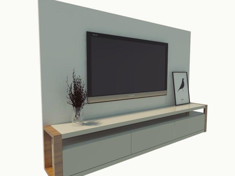 Panel Tv 3d Cgtrader