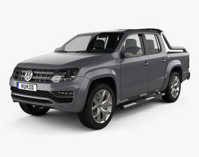 Volkswagen Amarok Crew Cab Ultimate 2016 3D model