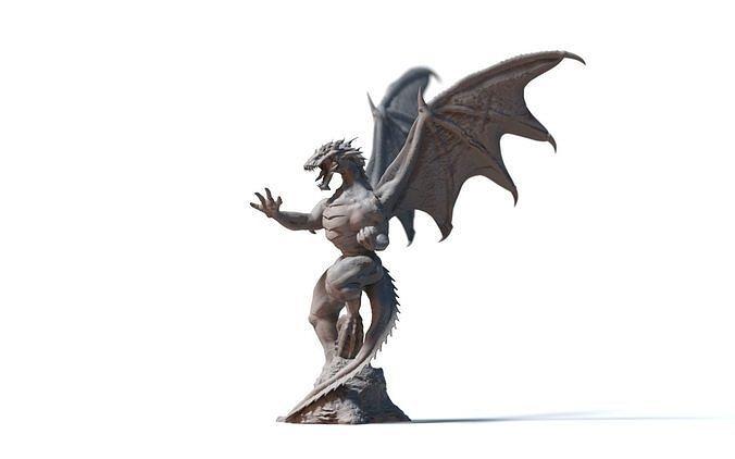emperor dragon 3d model stl 1