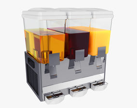 Juice Dispenser store 3D