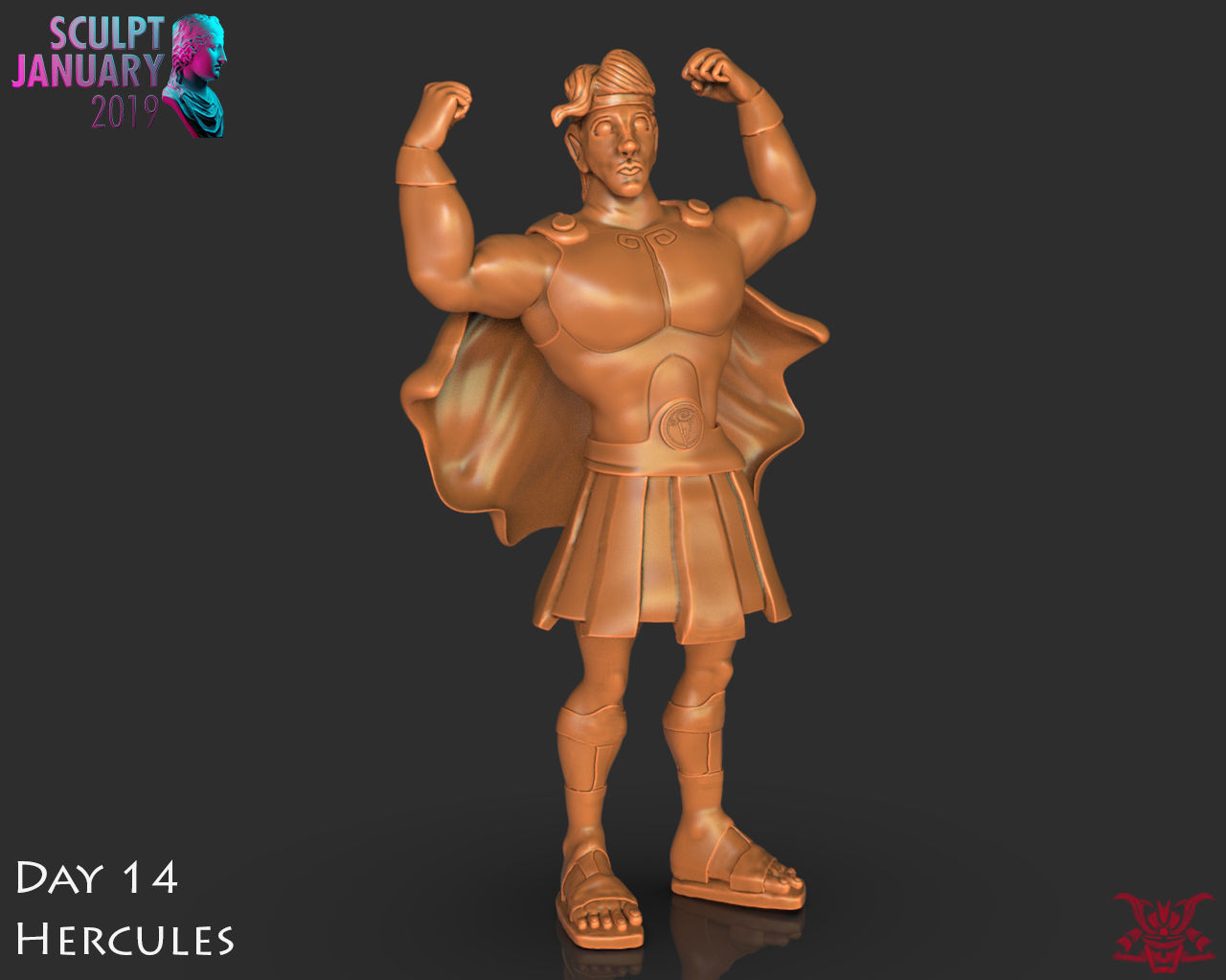 Hercules Timelapse and Model