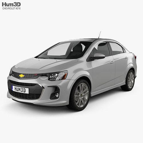 chevrolet sonic sedan rs 2017 3d model max obj mtl 3ds fbx c4d lwo lw lws 1