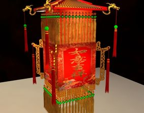 Chinese Palace Lantern 3D interior