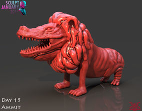 Ammit Timelapse and Model