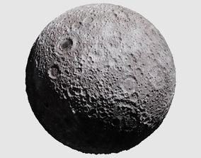 lunar 3D model Realistic Moon
