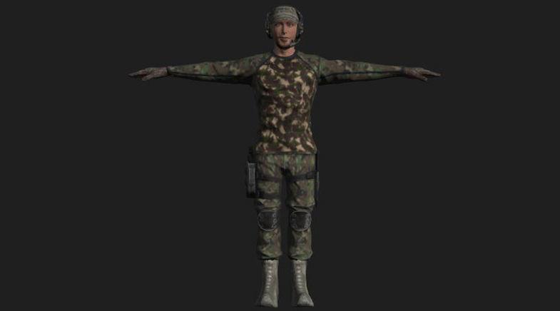 Commandos Pack 9 Military Commando Characters