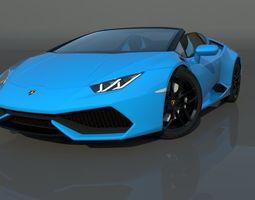 Lamborghini Huracan LP610-4 Spyder 3D model