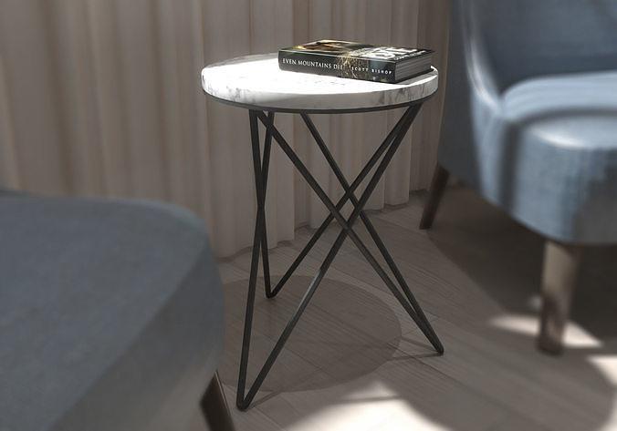 coffee table 3d model 3d model max obj mtl 3ds fbx dxf stl 1
