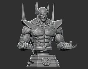 wolverinebust Wolverine Bust - Marvel 3D print model