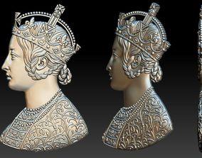 Avers Victiria Empress profile 3D model