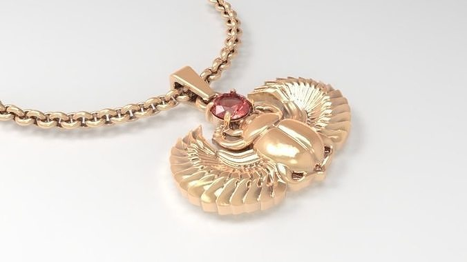 Jewelry Scarab