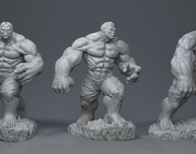 3D printable model Hulk bruce banner