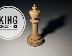 3D model Chess King Piece