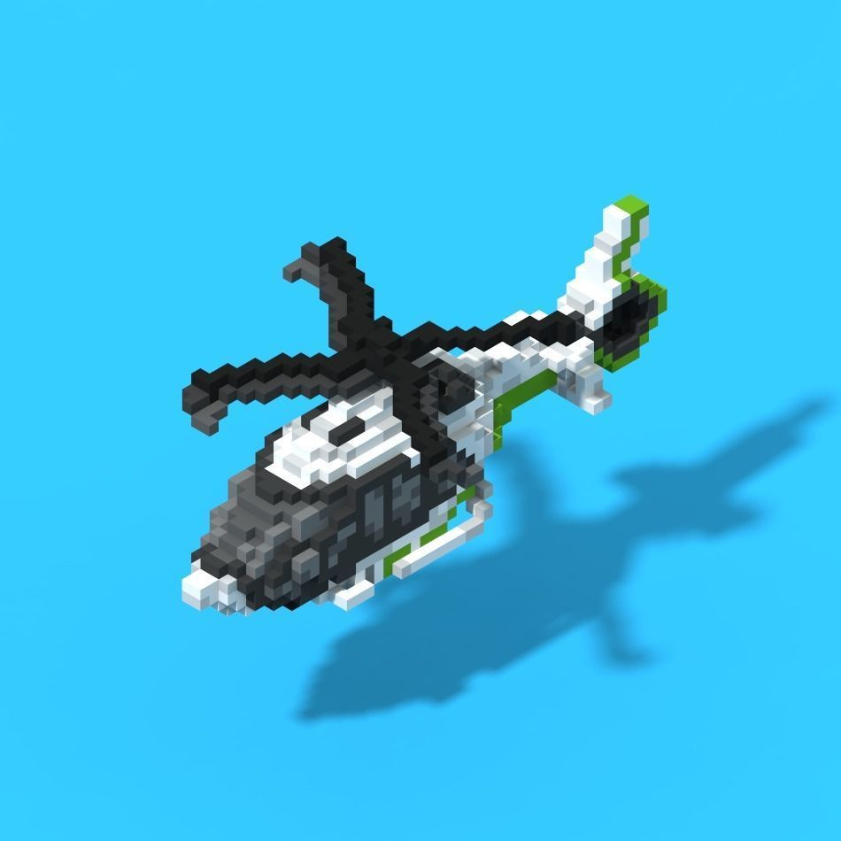 Voxel Helicopter