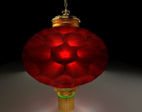 3D model design Chinese Red Lantern