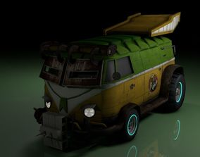 TMNT Party Wagon 3D model