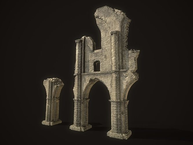 Ancient Cathedral Ruins