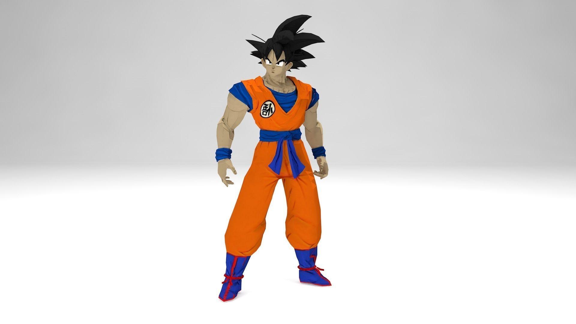 Son Goku 3d Model Printable 3d Print Model