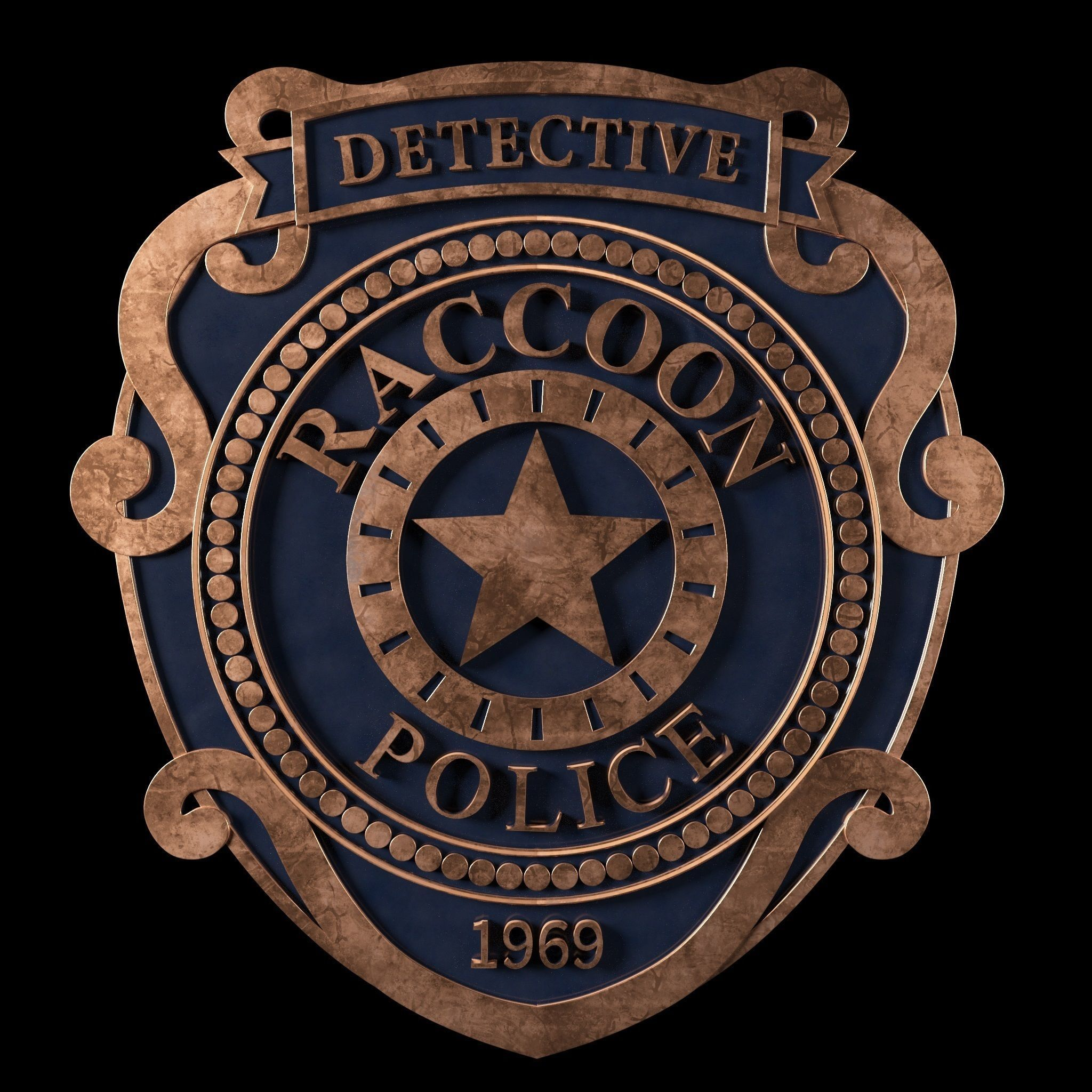 Raccoon City Police Badge