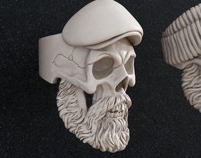 Ring Skull 3d print models