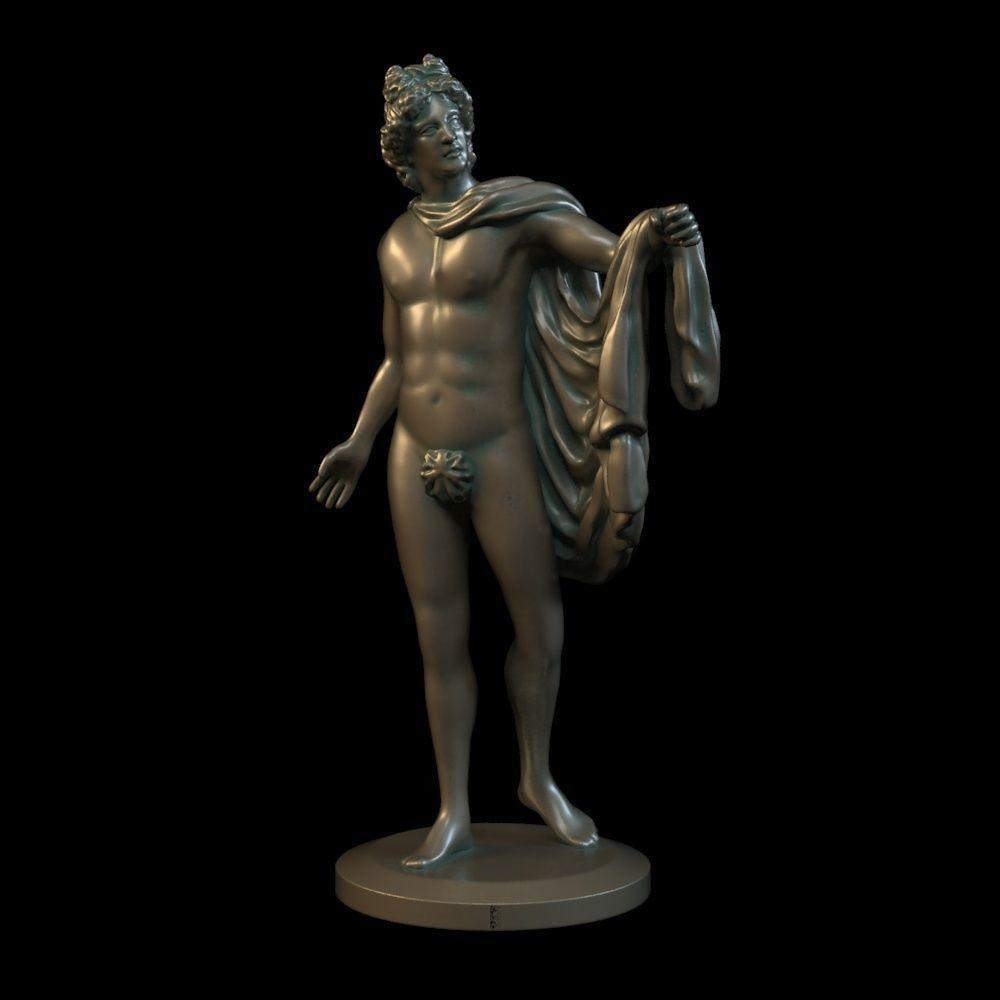 Apollo 3D print model