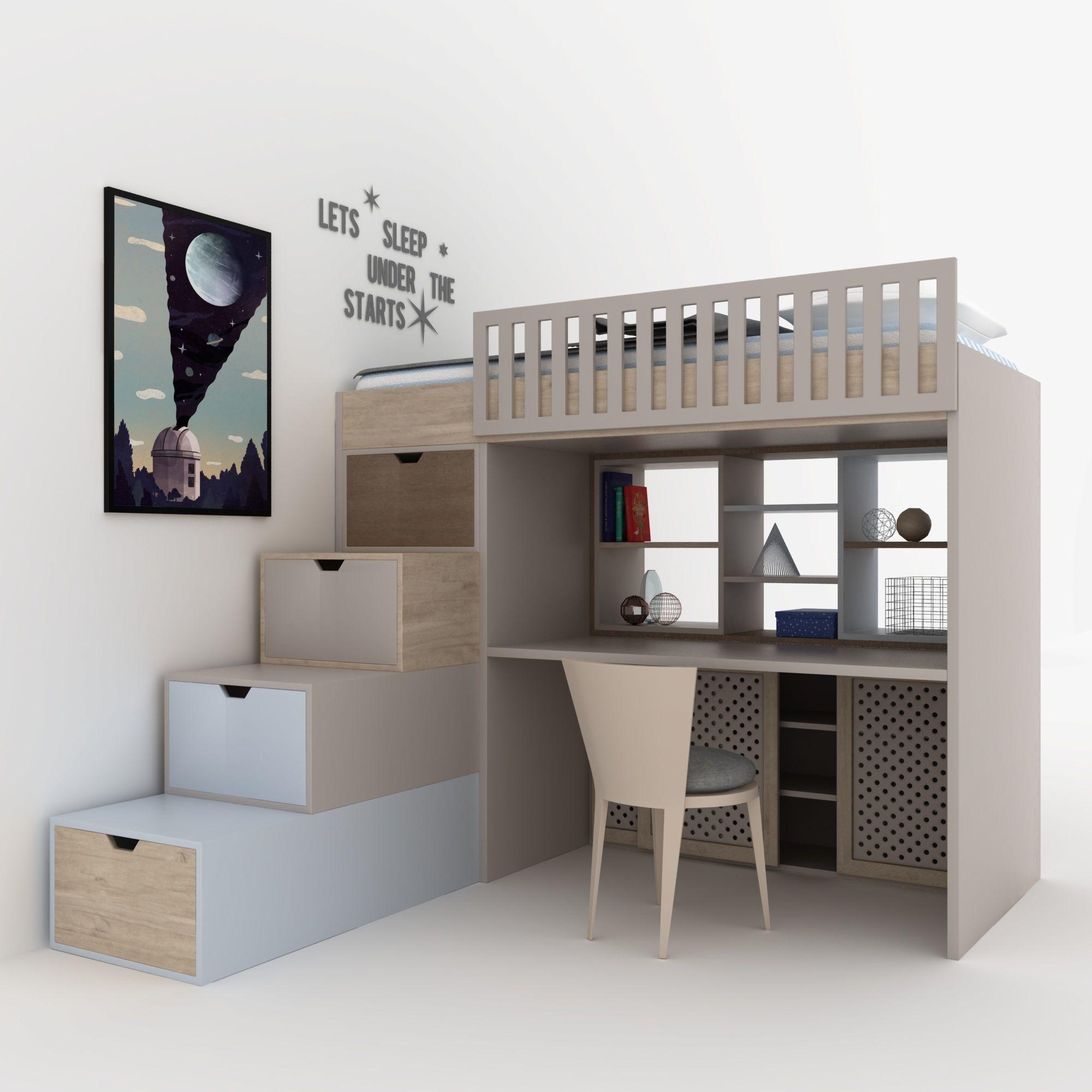 Child bedroom set | 3D model