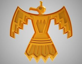 3D printable model Thunderbird Necklace