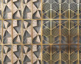 metal panel 3D