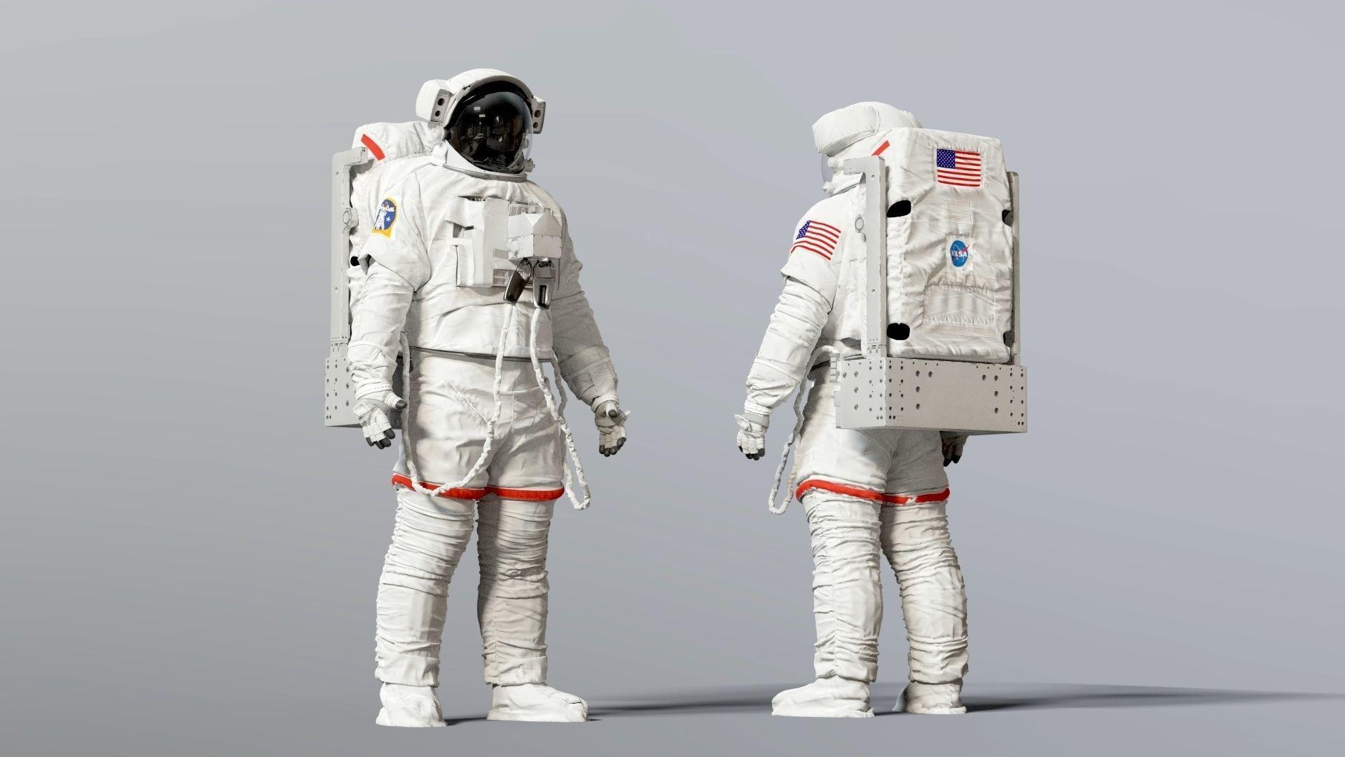 SPACESUIT NASA EMU SAFER