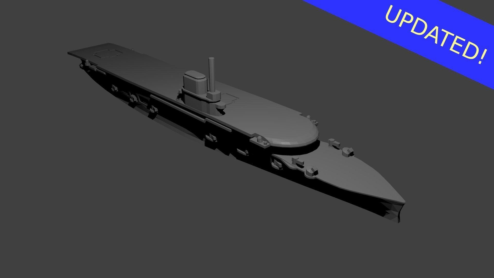 British Courageous Class Aircraft Carrier