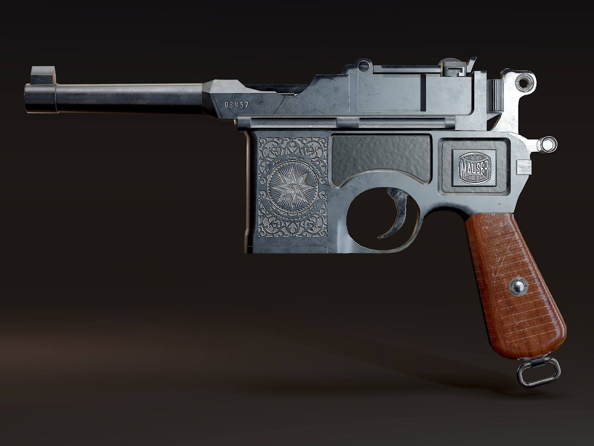 Mauser C96 dating ulkona puukattila koukku ylös