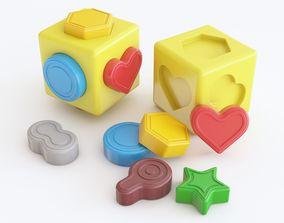 Baby toy 01 3D model
