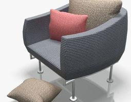 3D Armchair-6