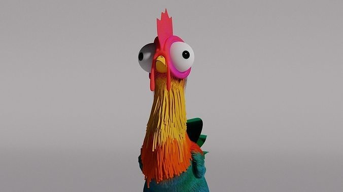 Hei-hei Moana chicken