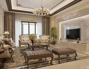 interior design 3D model modern