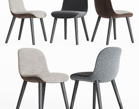 Mad Dining Chair Poliform 3D model