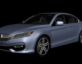 Honda Accord 2017 Touring 3D model realtime